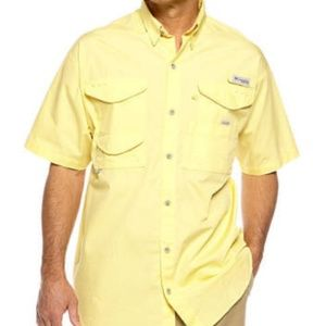 ** Columbia Men's Short Sleeve PFG Fishing Shirt